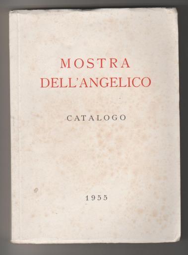 catalogo mostra angelico 1955