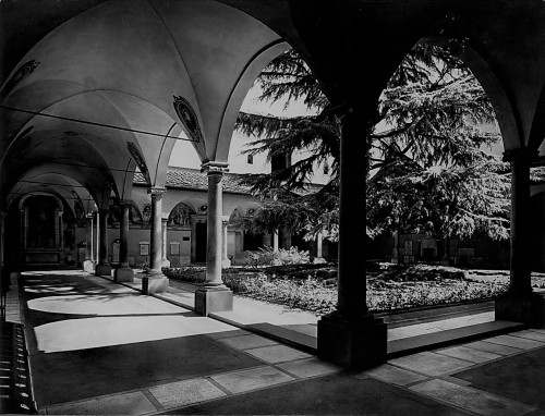 Chiostro di Sant'Antonino negli anni Sessanta
