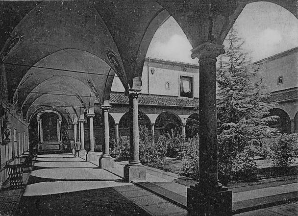 Chiostro Sant'Antonino nell'Ottocento