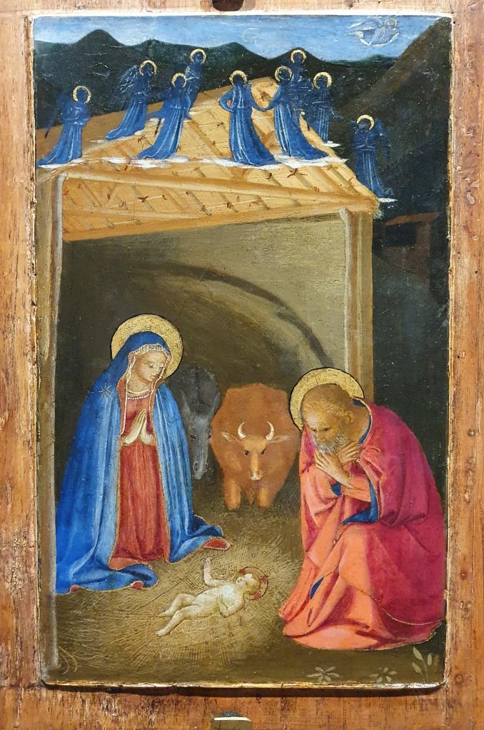 Beato Angelico, Natività, Dittico di Forlì